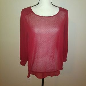 Maurices dress holiday top